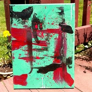 BRAND NEW Original painting abstract acrylic